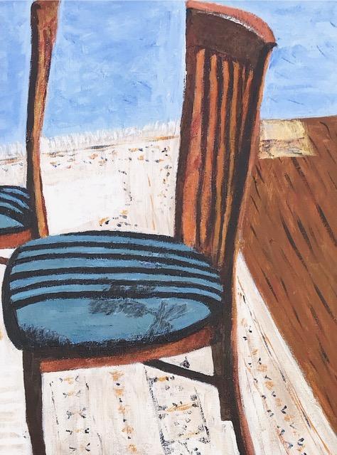 "Susan Van Horne ""Shadow Study"" (acrylic), Neg"