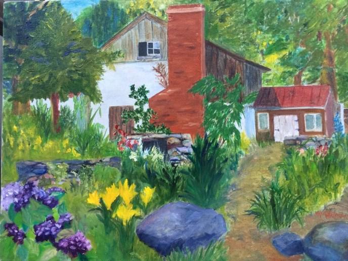 """""""Summertime - Penn's Woods"""" (oil) - $250"""
