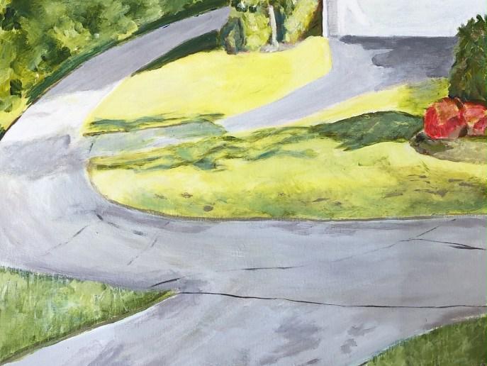 """""""Orchard Meadows"""" (acrylic) - NFS"""