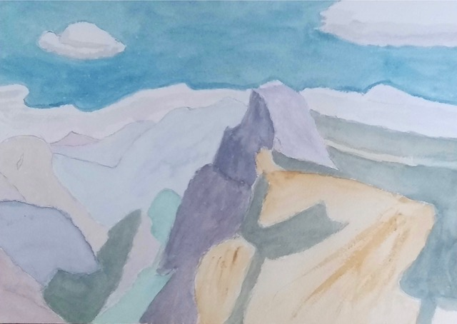 Yosemite (watercolor), NFS