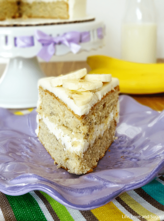 Soft and Moist Banana Cake   Life Love and Sugar Soft and Moist Banana Cake