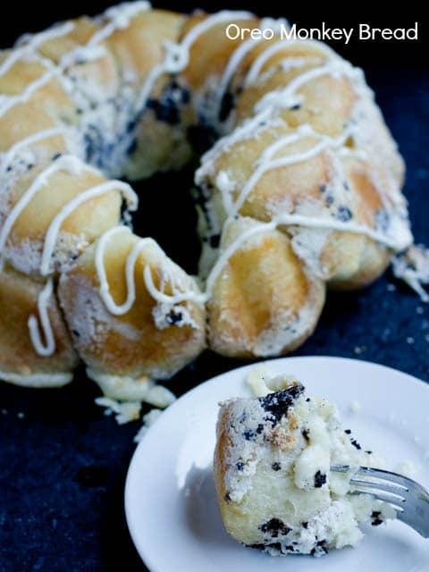 Oreo-pull-apart-Bread