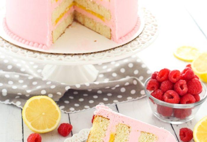 Lemon Raspberry Layer Cake Life Love And Sugar
