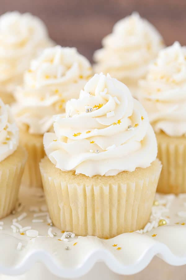 Perfect Moist And Fluffy Vanilla Cupcakes Life Love And