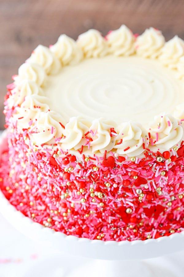 Red Velvet Layer Cake Life Love And Sugar