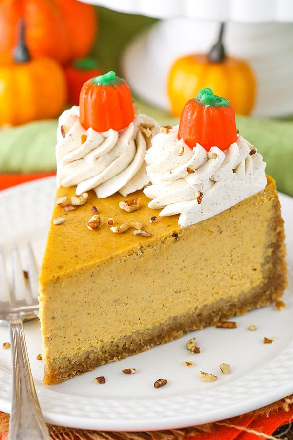 Pumpkin Cheesecake Full Of And E Thick Creamy A Great Dessert
