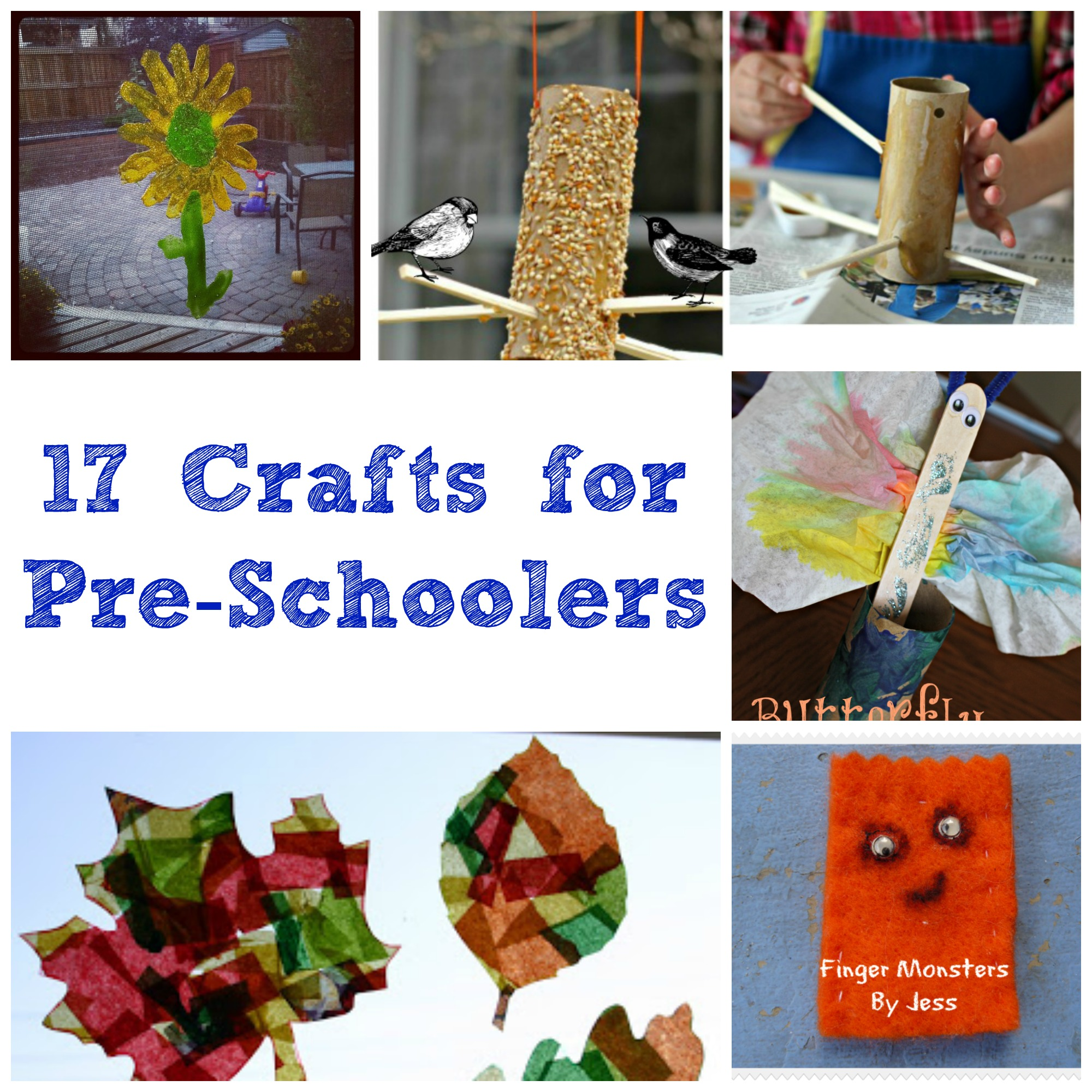 17 Crafts For Pre Schoolers