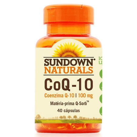 Co Q-10 Coenzima Sundown 100mg c/ 40 Cápsulas 1