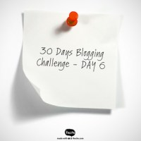 30 Days Blogging - Day 6: Something I'm Proud Of