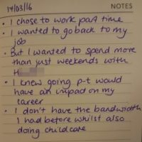 The reality of being a working mum - 10 months in
