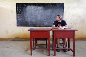 Die Geisterschulen der Ayu Inseln