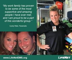 Cyndy Rider, Paramedic, Texarkana, TX, LifeNet EMS Jobs