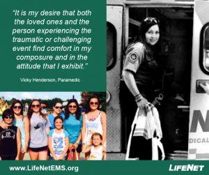 LifeNet Paramedic Jobs, Vicky Henderson, paramedic jobs in Texarkana