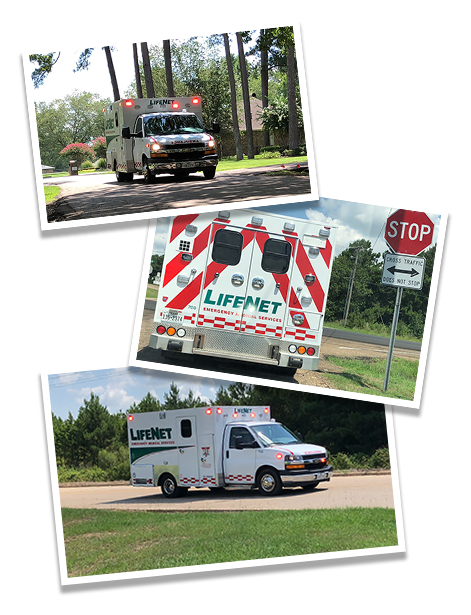 Lifenet Ambulances provide emergency medical service (EMS) in Texas, Arkansas, and Oklahoma.