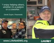 Derek Dupre, paramedic in Hot Springs, Arkansas at LifeNet