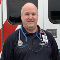 Bob Flotkoetter, Paramedic, LifeNet EMS