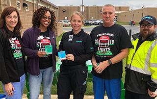 Lake Hamilton High School Stroke Zone - LifeNet EMS Stroke Awareness Event