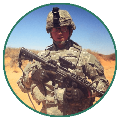 Zach Ford, US Army and Army Reserve