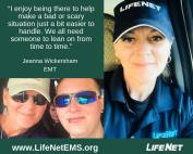 Jeanna Wickersham, EMT, LifeNet EMS Texarkana