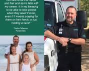 Timbo Tolleson, Paramedic, LifeNet EMS, Texarkana