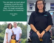 Emily Hatley is an EMT at LifeNet EMS in Hot Springs, AR