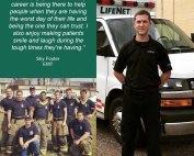 Sky Foster is an EMT for LifeNet EMS in Texarkana, Texas.