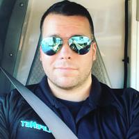 Justin Butcher is an EMT for LifeNet in Hot Springs, Arkansas.