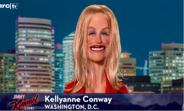 Jimmy Kimmel Airs Fake Interview With Grotesque Puppet Of