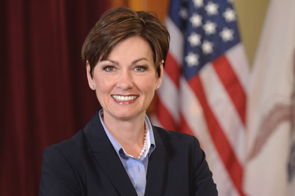Iowa Governor Kim Reynolds: There is No Constitutional Right to Kill Babies in Abortions
