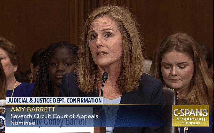 Amy Barrett's Record Shows Support for Pro-Life Laws Saving Babies From Abortion