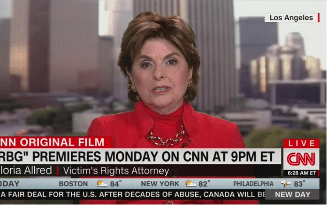 "Gloria Allred Defends Killing Her Baby, ""I Had to Have an Abortion"""
