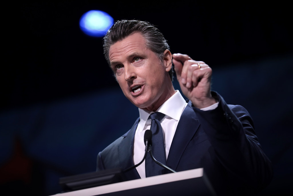 Gavin Newsom Names Democrat Who Tried to Keep Trump Off California Ballot to Replace Kamala Harris