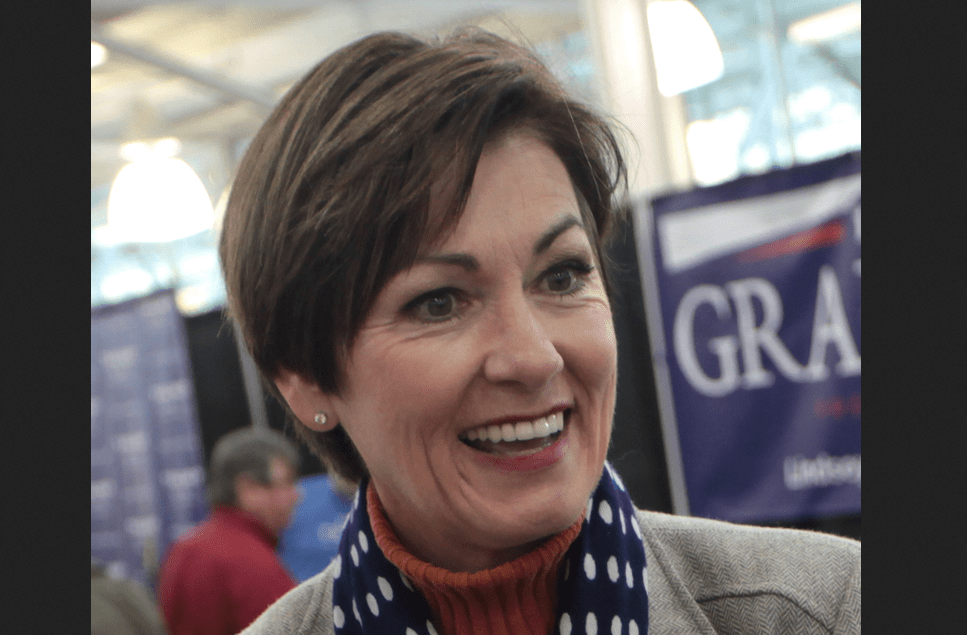 Iowa Governor Kim Reynolds Signs Pro-Life Bill That Saves Babies From Abortion