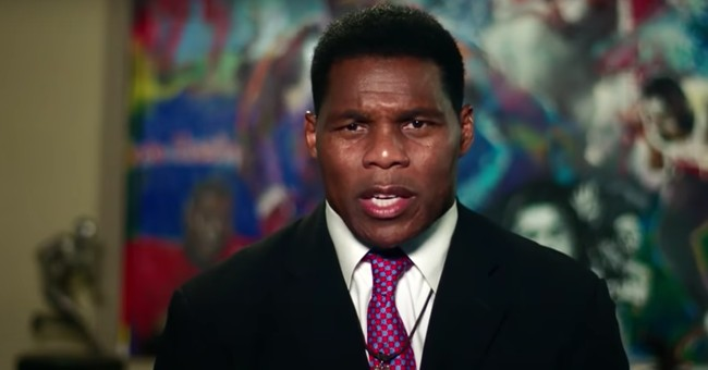 Liberals Trash Herschel Walker With Racial Slurs After Football Star Endorses President Trump