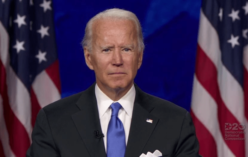 Joe Biden Changes Declaration of Independence Again in Democrat Acceptance Speech