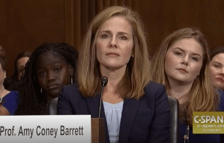 "Mitch McConnell Says Media Reports Amy Coney Barrett's Christian Faith Like a ""Secret Scandal"""