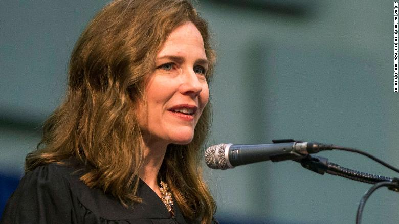 President Trump Will Nominate Judge Amy Coney Barrett to Replace Ginsburg on Supreme Court