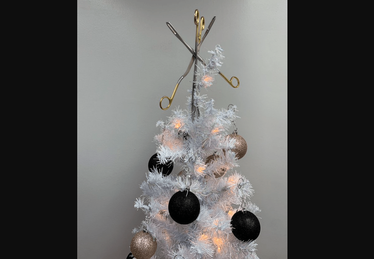 "Abortion Activist Deletes Photo of ""Abortion Christmas Tree"" With Forceps on Top After Complaints"