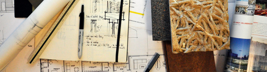 Architect Bob Borson's Desk