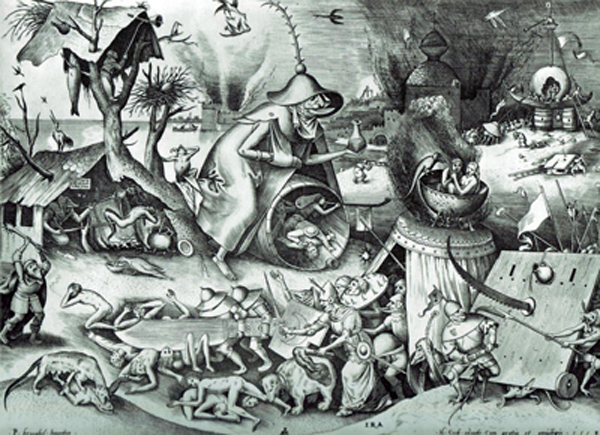 Pieter Bruegel the Elder-The Seven Deadly Sins or the Seven Vices-Anger