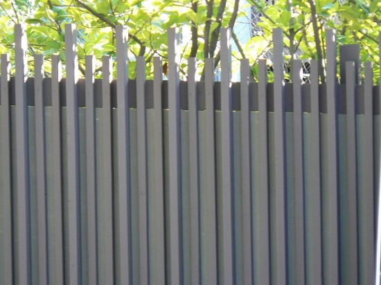 Modern Fences Use Your Imagination Life Of An Architect