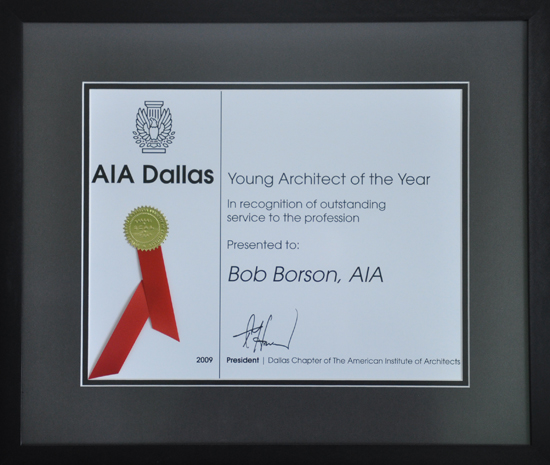 Bob Borson - Young Architect of the Year