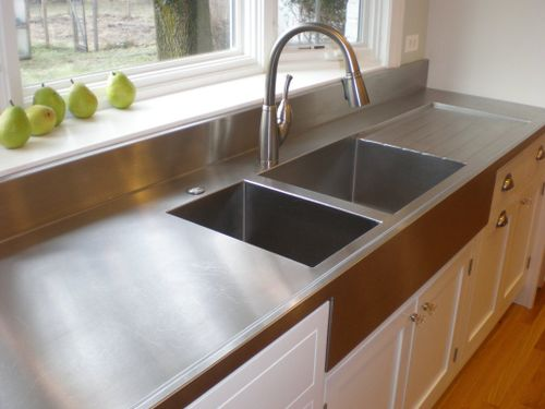 Stainless Steel Sink With Counter : Top 10 Modern Kitchen Design Trends Life of an Architect