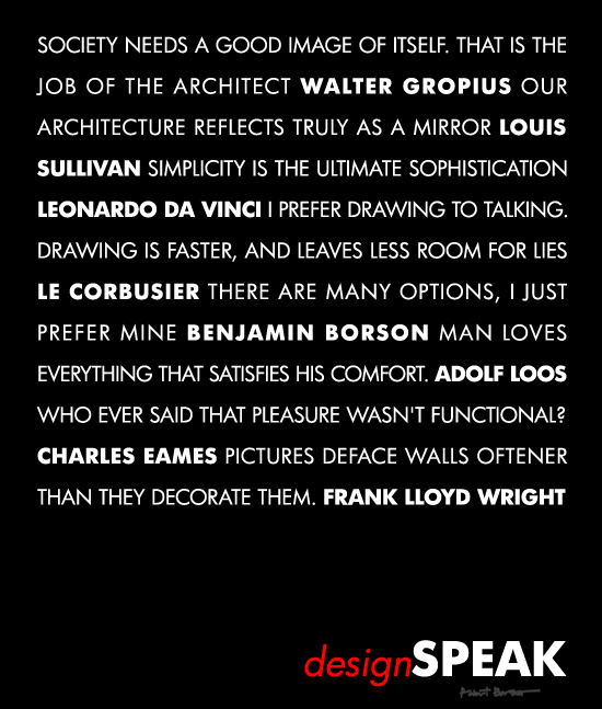 Design Quotes Part Ii Life Of An Architect