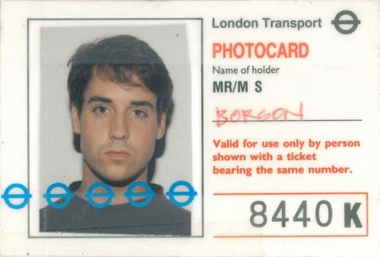Bob Borson in Europe circa 1990