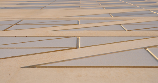 Convention Centre of Aragon - exterior tiles