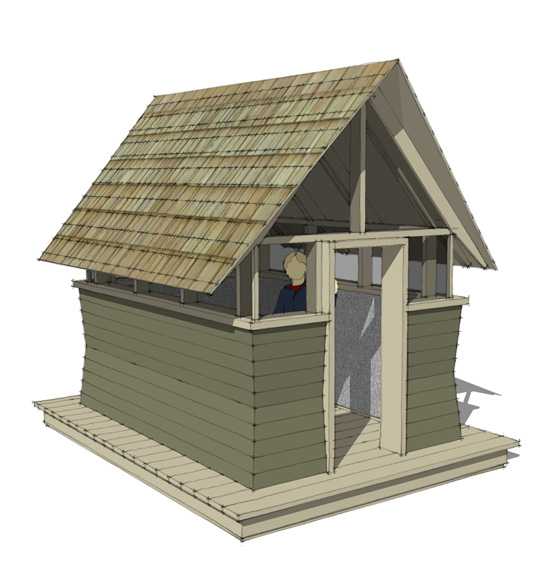 Modern Chicken Coop And Urban Farmers