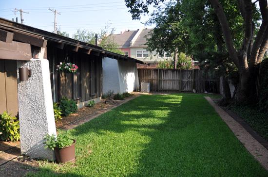 Backyard Drainage After