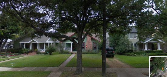 Original Street View prior to demolition