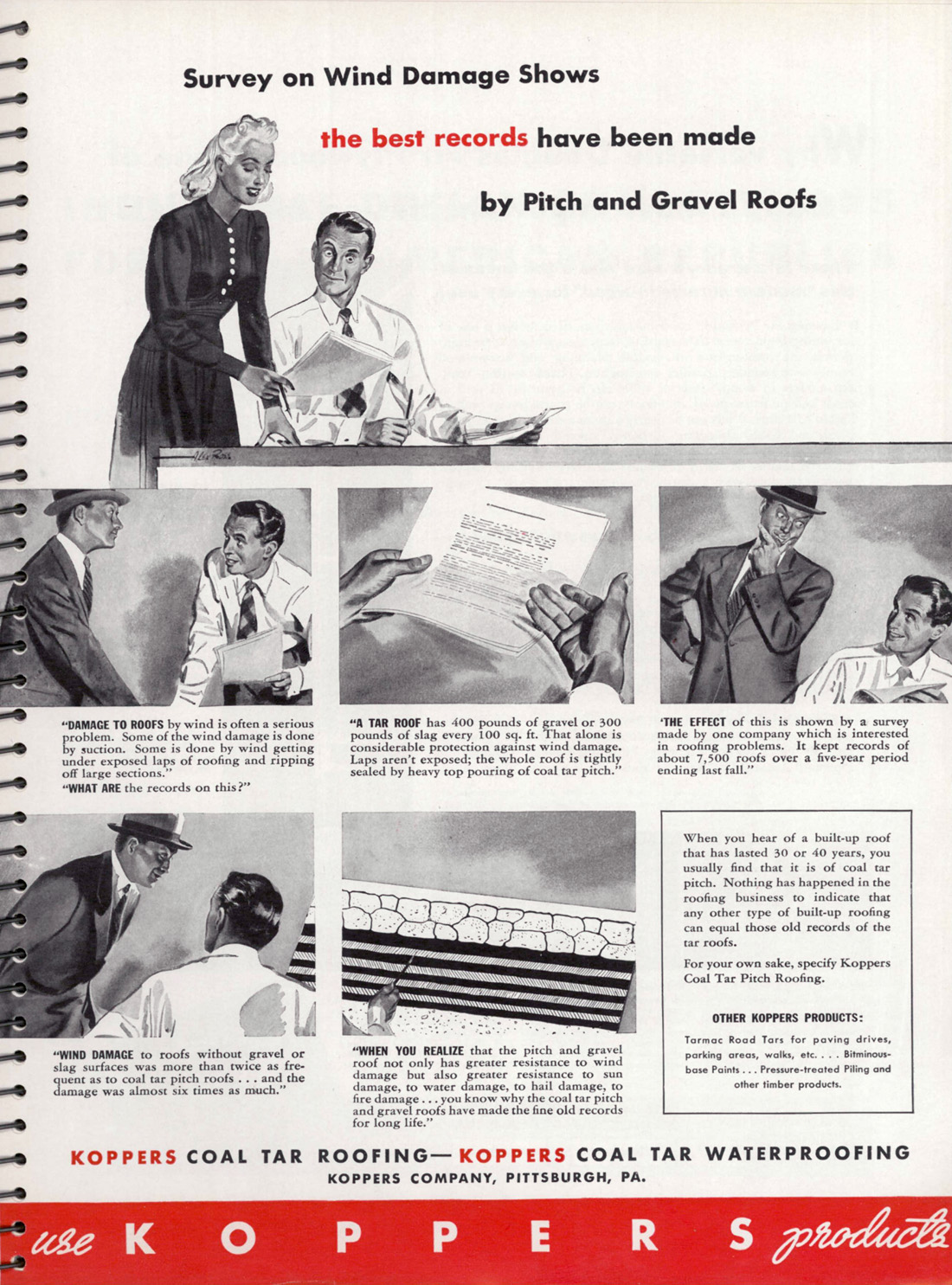 Ads From October 1940 Architectural Forum Magazine Life